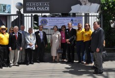 Obras Irmã Dulce recebem visita do presidente  do Lions Clubs International