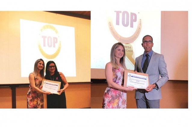 Centro Educacional Santo Antônio recebe Prêmio Top Of Quality International